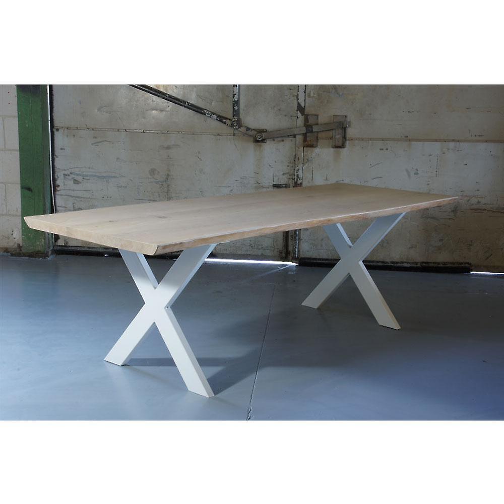 Jambe de table white X 72 cm (tube 10 x 4)