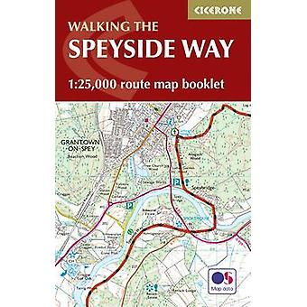 Speyside Way Map Booklet by Alan Castle