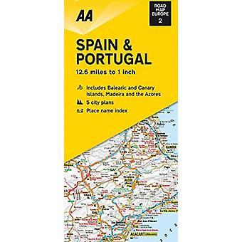 Road Map Spain  Portugal