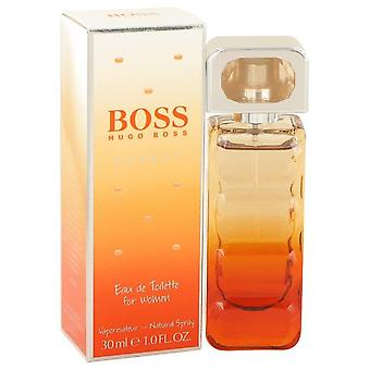 Boss oranssi auringonlasku eau de toilette spray hugo pomo 501661 30 ml