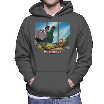 An American Tail Henri Give Fievel Hope Men's Hooded Sweatshirt