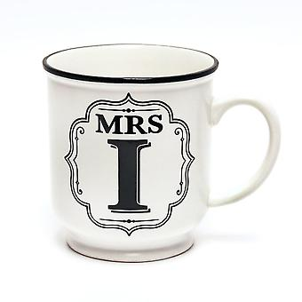 Histoire et Heraldry Alphabet Mug - Mme I