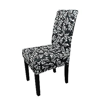 FP4 - Floral Printed Short Spandex Chair Cover