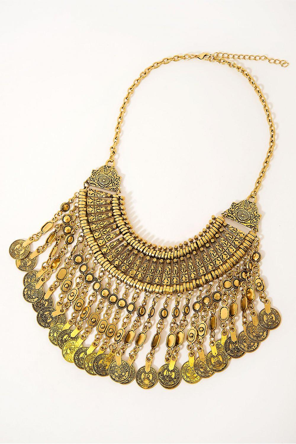 Vintage Style Coin Necklace