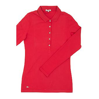 Red Polo Lacoste Frauen