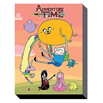 Adventure time - sunset 60cm x 80cm wall art canvas