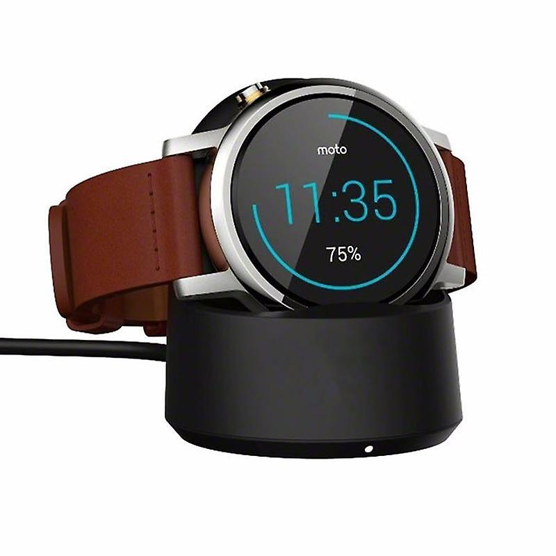 Moto360 Watch Charger Qi Wireless Charging Cradle Dock