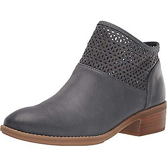 Comfortiva Womens cailean Leather Round Toe Ankle Fashion Boots