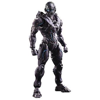 Halo 5 Guardians Spartan Locke Play Arts Action Figure