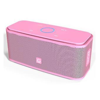 Doss Bluetooth 4.0 Soundbox Altavoz inalámbrico externo Altavoz inalámbrico rosa