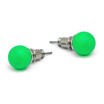 Stud Earrings with Crystal Pearls EMB16.1