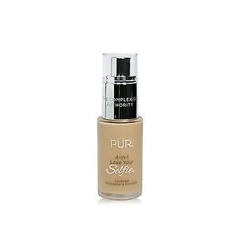 Pur (purminerals) 4 In 1 Love Your Selfie Longwear Foundation & Concealer - #mp1 Ivory Beige (light Blush Medium Skin With Pink Undertones) - 30ml/1oz
