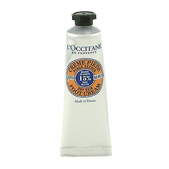 L'Occitane Shea Butter Foot Cream (Travel Size) 30ml/1oz