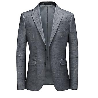 Allthemen Men's Sport Coat Casual 2 Buttoned Suit Jacket