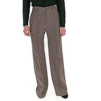 Victoria Beckham 21102blackorange Women-apos;s Pantalon en laine multicolore