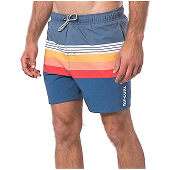 Rip Curl Layered 16 Volley Elasticated Boardshorts in Navy