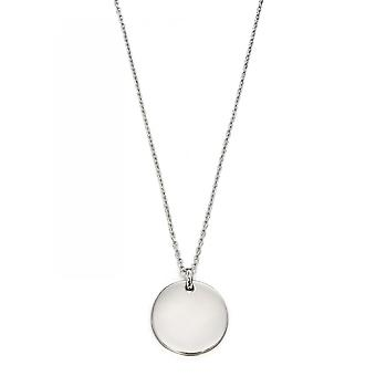 Little Star Bobbi Silver Disc Children's Necklace