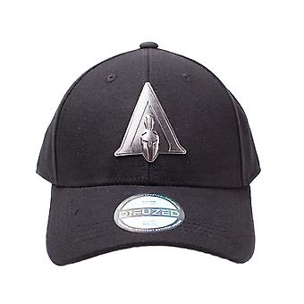 Assassin's Creed Odyssey Metal Badge Curved Bill Cap