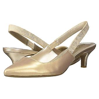 Anne Klein Womens Aileen Fabric Pointed Toe SlingBack Classic Pumps