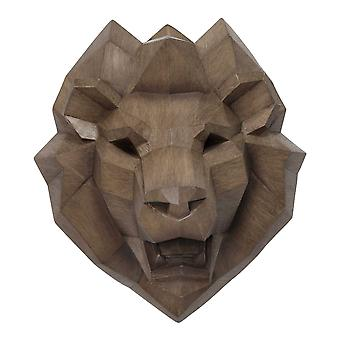Kraftfuld Lion Head Wall Decor