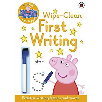 Peppa Pig - Practise with Peppa - Wipe-Clean First Writing - 9780241254
