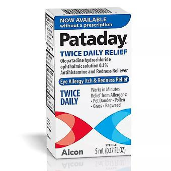 Pataday twice daily eye allergy itch relief eye drops, 5 ml