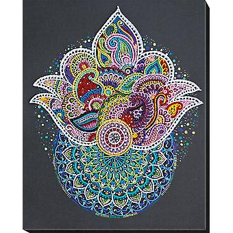Abris Art Bead Embroidery Kit With Thread - Contemplating