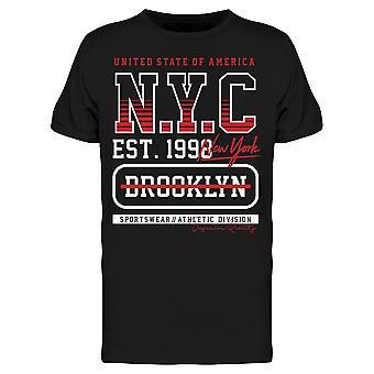 New York, Brooklyn Est. 1998 Tee Men's -Kuva Shutterstock