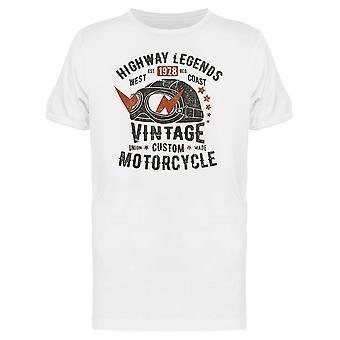 Autobahn-Legenden T-Shirt Herren-Bild von Shutterstock