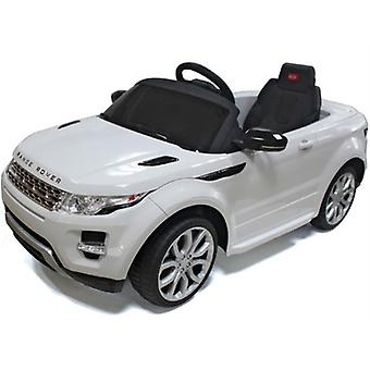 Rastar Land Rover Evoque Remote-Controlled 12V SUV, White