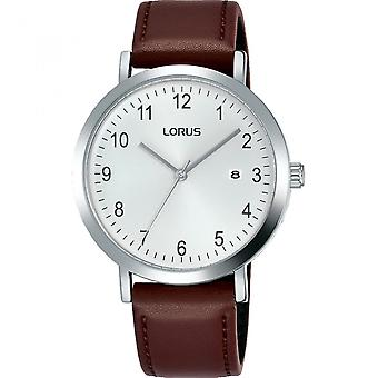 Lorus RH937JX-9 Brown Leather Strap Wristwatch
