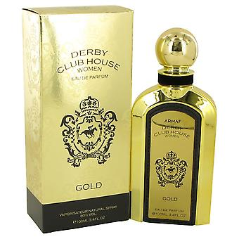Armaf Derby Club House Gold by Armaf Eau De Parfum Spray 3.4 oz / 100 ml (Women)