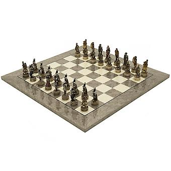 The Zombie and Grey Ash Deluxe Chess Set