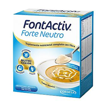 FontActiv Forte Neutral 10 packets of 30g