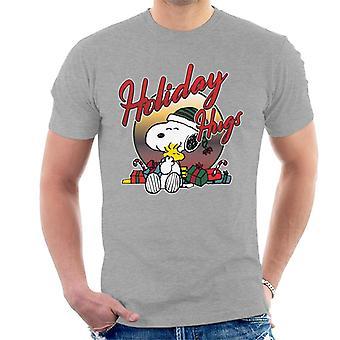Jordnötter semester kramar Christmas män ' s T-shirt
