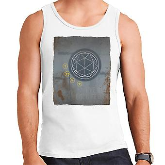 The Crystal Maze Rust Panel Men's Vest