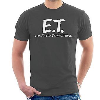 E.T. Retro Text Logo Men's T-Shirt