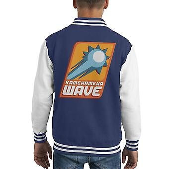 Dragon Ball Z Kamehameha Wave Kid's Varsity Jacket