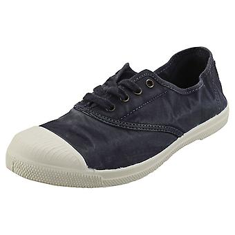 Natural World Old Lavanda Womens Casual Shoes in Marine