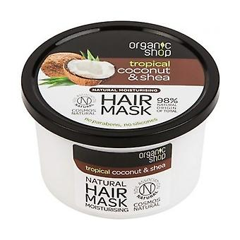 Hydrating Coconut and Organic Shea Butter Hair Mask (bdih) 250 ml