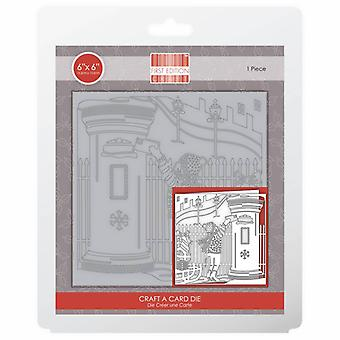 First Edition Christmas Craft A Card Die - Post Box