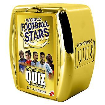 World Football Stars Top Trumps Quiz Game