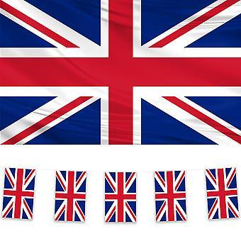 Union Jack Flag & Bunting Pack
