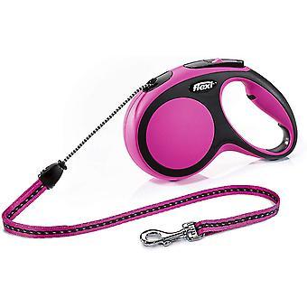 Flexi Comfort 2 - Cablu mediu de 5m - Roz