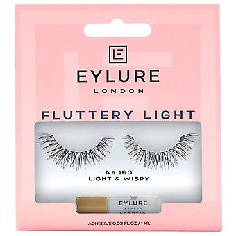 Eylure Fluttery Light Premium Valse Wimpers - 160 - Lash Lijm inbegrepen