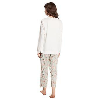 Rösch New Romance 1203606-11732 Women's Soft Flowers Pyjama Set