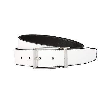 Nike Men's Classic Reversible Belt, Black/White, 42, Black/White, Size 42