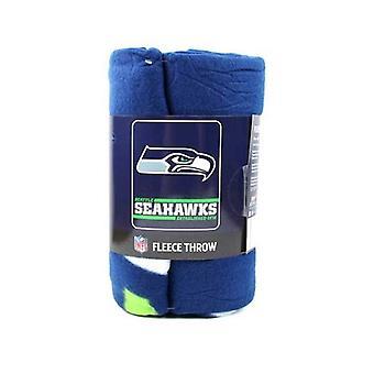 Seattle Seahawks NFL Northwest Split Wide Fleece Throw