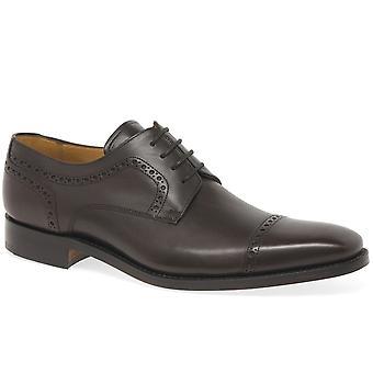 Barker Leo Mens Formal Leather Lace Up Derby Shoes