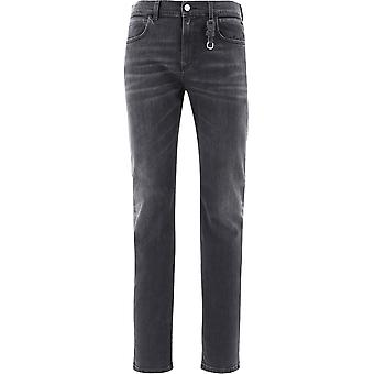 1017 Alyx 9sm Aampa0085fa01blk0001 Men's Black Cotton Jeans
